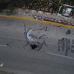 Ένα graffiti αφιερωμένο στη μνήμη του Παντελή Παντελίδη