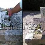 Χειμάρρα: Βεβήλωσαν το μνήμα του Σπυρομίλιου