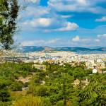 Πανοραμική φωτογραφία της Αθήνας