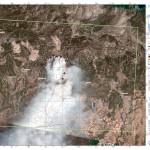 Η φωτογραφία από τον δορυφόρο