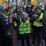 διαδήλωση κίτρινων γιλέκων στη Γαλλία τον Νοέμβριο του  2019