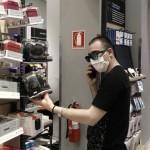 ψώνια με μάσκα