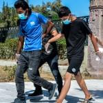 Μόρια: Στον Εισαγγελέα οι συλληφθέντες για τη φωτιά στο ΚΥΤ