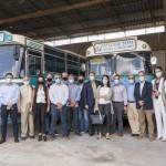 Όμιλος Επιχειρήσεων Σαρακάκη μουσειακά λεωφορεία
