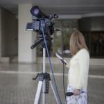 κάμερα - δημοσιογράφος