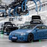 Mercedes ηλεκτρικά αφίξεις εργοστάσια