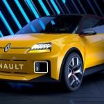 Renault 5 2021 σχεδίαση φώτα