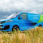 Vauxhall Vivaro-e van παραγγελία British Gas