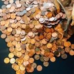 Κέρματα πάτωμα