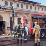 φωτιά δημοτική αγορά Χανίων/ cretalive.gr
