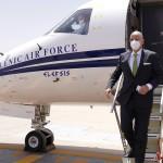 Νίκος Δένδιας αεροσκάφος ελληνικής κυβέρνησης