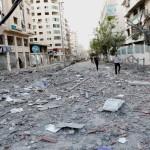 Λωρίδα Γάζας συντρίμμια