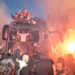 ΠΑΟΚ πανηγυρισμοί για το Κύπελλο Θεσσαλονίκη