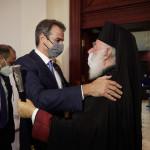 Πατριάρχης Αλεξανδρείας - Κυριάκος Μητσοτάκης