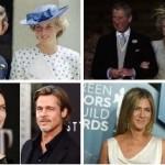 Aniston -Pitt - Jolie - Πριγκίπισσα Diana - Πρίγκιπας Κάρολος - Camilla