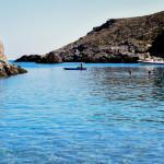 Η παραλία Μελιδόνι στα Κύθηρα