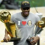 Ο Γιάννης Αντετοκούνμπο πρωταθλητής του NBA και MVP των τελικών