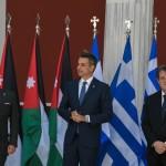Τριμερής σύνοδος κορυφής Ελλάδα Ιορδανία Κύπρος