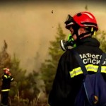 Ουκρανός πυροσβέστης