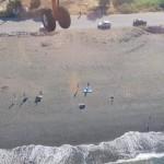 παραλία Πευκί ευχαριστώ στα εναέρια μέσα
