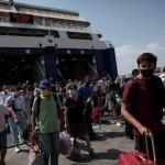 λιμάνι επιβάτες πλοίων