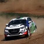 Peugeot ΓΚΑΛΛΟ  Ράλι Ακρόπολις συμμετοχή