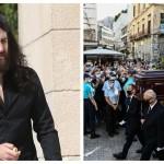 Άγγελος Θεοδωράκης, λαϊκό προσκύνημα/ NDP, eurokinissi