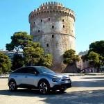 Citroen C4 1,5 BlueHDi ΕΑΤ8 δοκιμή ταξίδι Θεσσαλονίκη