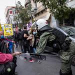 Αντιφασιστικό συλλαλητήριο: Ένταση Στην Ομόνοια