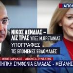 συμφωνία  Ελλάδας – Μεγάλης Βρετανίας