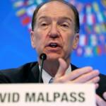 Ντέιβιντ Μαλπάς πρόεδρος Παγκόσμιας Τράπεζας