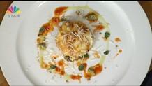 Αρνάκι ραγού με ψητά λαχανικά και σάλτσα γιαουρτιού