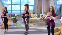 Κάντε γυμναστική με το μωρό σας στον μάρσιπο