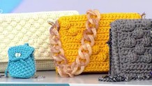 Φτιάξτε μόνες σας πλεκτές τσάντες