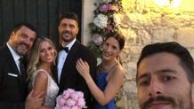 Σηφάκης - Στεφανίδη: Οι πρώτες φωτογραφίες από τον γάμο!