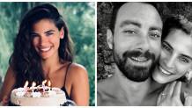 Χριστίνα Μπόμπα  Σάκης Τανιμανίδης έκπληξη τούρτα γενέθλια