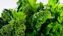 Πράσινα φυλλώδη λαχανικά