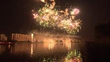 Πυροτεχνήματα στη Μόσχα