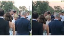 πρώτες εικόνες γάμος Ρέμος Μπόσνιακ