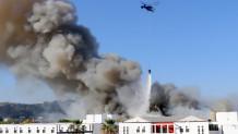 Πανεπιστήμιο Κρήτης φωτιά
