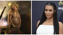 Kim Kardashian και  Beyonce