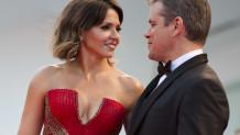 Luciana Barroso Matt Damon
