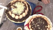 σαβαγιάρ και κρέμα σοκολάτας