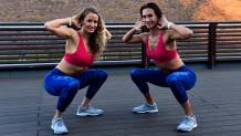 Οι personal trainers Anna-Lena και Nicole