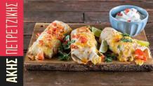 Άκης Πετρετζίκης: Enchiladas με κοτόπουλο συνταγή