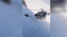 Ο έμπειρος πιλότος ελικοπτέρου πήγε στη βουνοπλαγιά