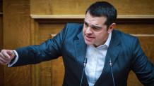 Εξαλλος ο Αλέξης Τσίπρας στη Βουλή