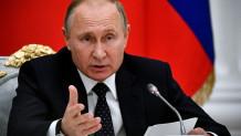 O Προέδρος της Ρωσίας Βλάντιμιρ Πούτιν σε συνάντηση με επιχειρηματίες