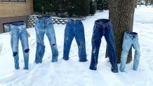 Πλυμένα παντελόνια στις ΗΠΑ πάγωσαν από το πολικό ψύχος