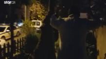 επέμβαση αστυνομικών σε σπίτι όπου επιχείρησε να εισβάλλει διαρρήκτης